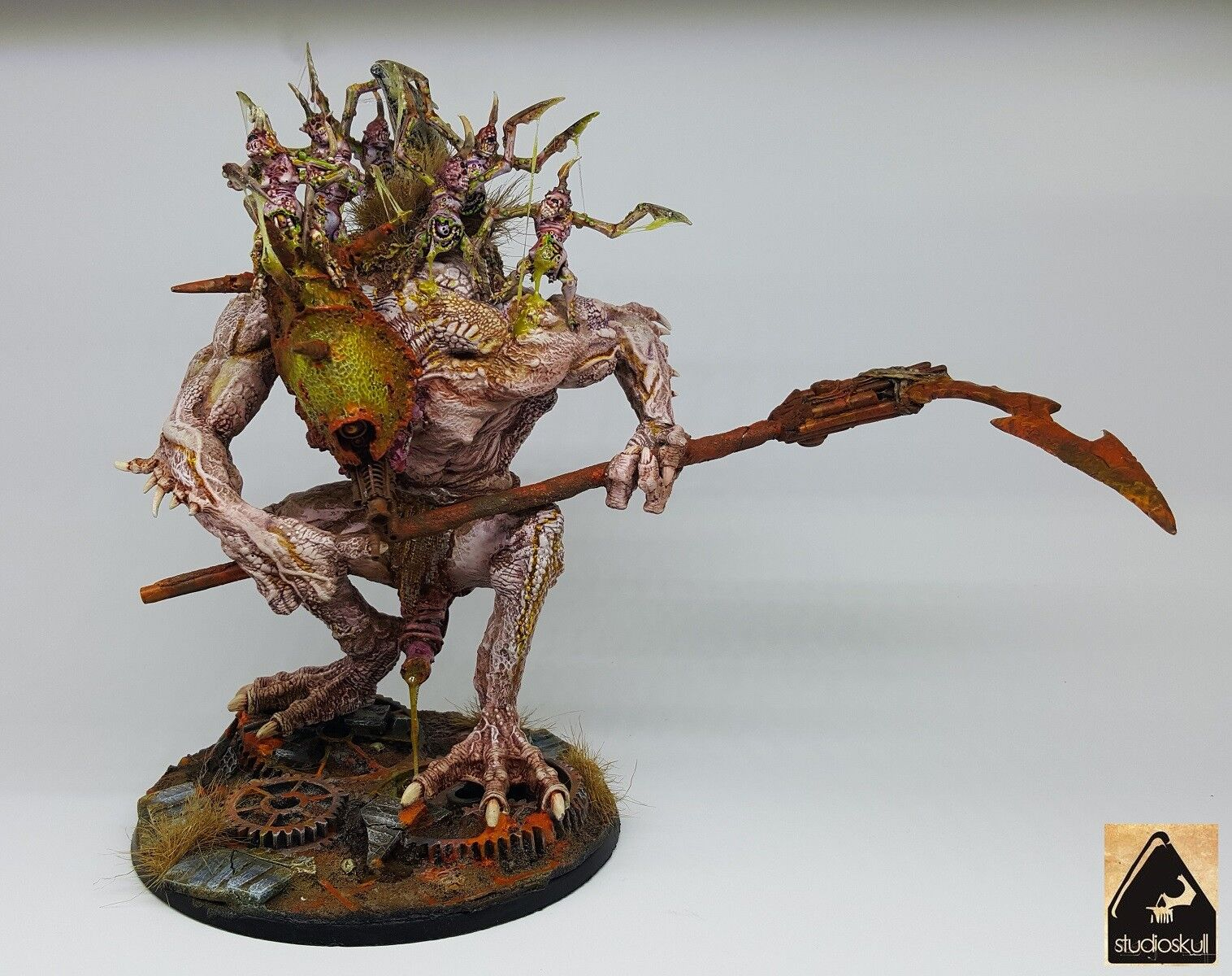 GREATER DAEMON OF NURGLE - KU' GATH - - - WARHAMMER 40K 00d511