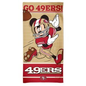 Image Is Loading San Francisco 49ers Go Mickey Mouse 30