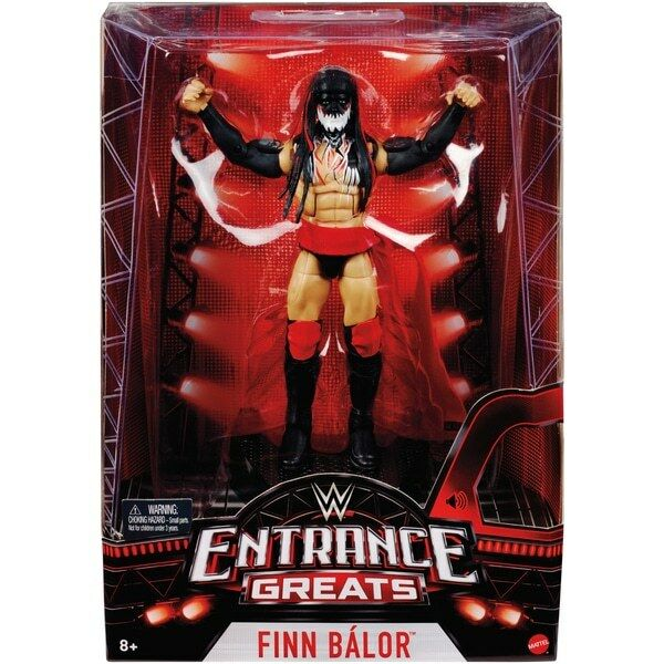 Finn Balor Démon Wwe Entrée Super Série 4 Elite Figurine Catcheur Nxt