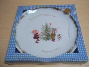 Holly Hobbie 1978 Christmas Plate American Greetings