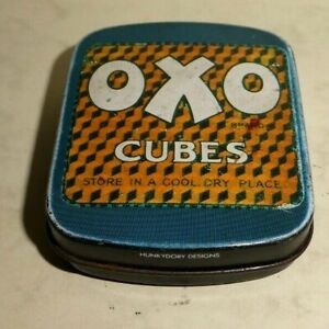 Robert Opie Collection OXO CUBES TIN designed by  HUNKYDORY designs