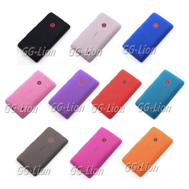Soft Matte TPU Gel Rubber Silicone Skin Cover Case For Nokia Lumia 520