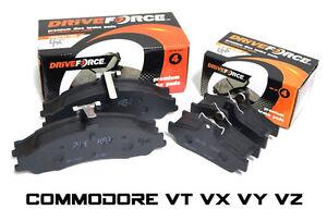 COMMODORE-VT-VX-VY-VZ-FULL-SET-FRONT-amp-REAR-BACK-BRAKE-PADS-NEW