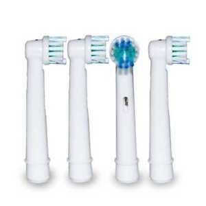 4 Recambios Compatibles Para Cepillo de Dientes Electrico ORAL-B Oral B Braun