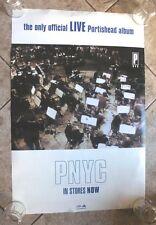 "Portishead ""Live PNYC"" 2 sided Promo Poster Massive Attack Morcheeba"