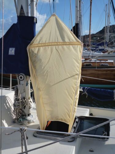 AIR SCOOP HATCH VENTILATION WIND TROPICAL SAIL COOL AIRSCOOP CABIN YACHT BREEZE