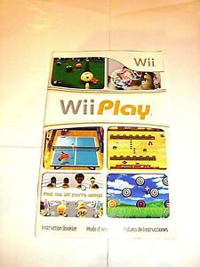 Lot of 2 fit/+ wii game instruction manuals insert booklets | ebay.