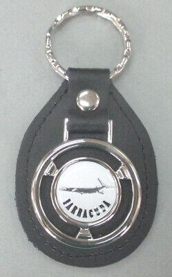 Plymouth Keychain White Emblem Key Chain
