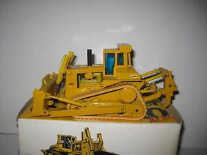Caterpillar D 10 Bouteur Pacman Logo #285.1 Conrad 1:50 Neuf Dans Sa Boîte-afficher Le Titre D'origine