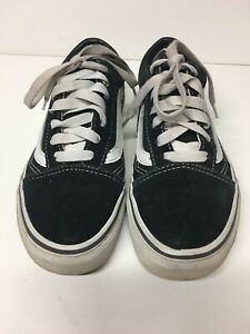 White Lace Up Skate Shoes Trainers Sz
