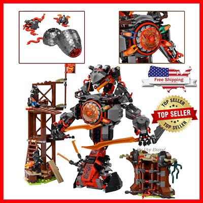 734pcs Ninja Dawn of Iron Doom Figures Building Blocks Kit Toys Set Kids DIY