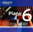 Piano 2015-2017 Grade 6 Book Audio | Trinity College Lond 0857363417 GDN