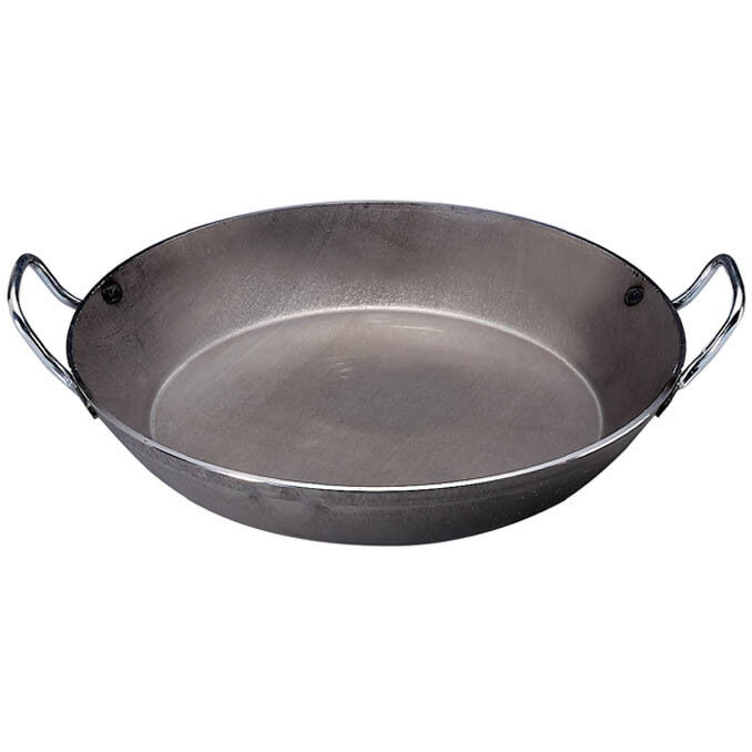 De Buyer, Carbone Plus - Heavy Quality Steel, Round Frypan 2 handles