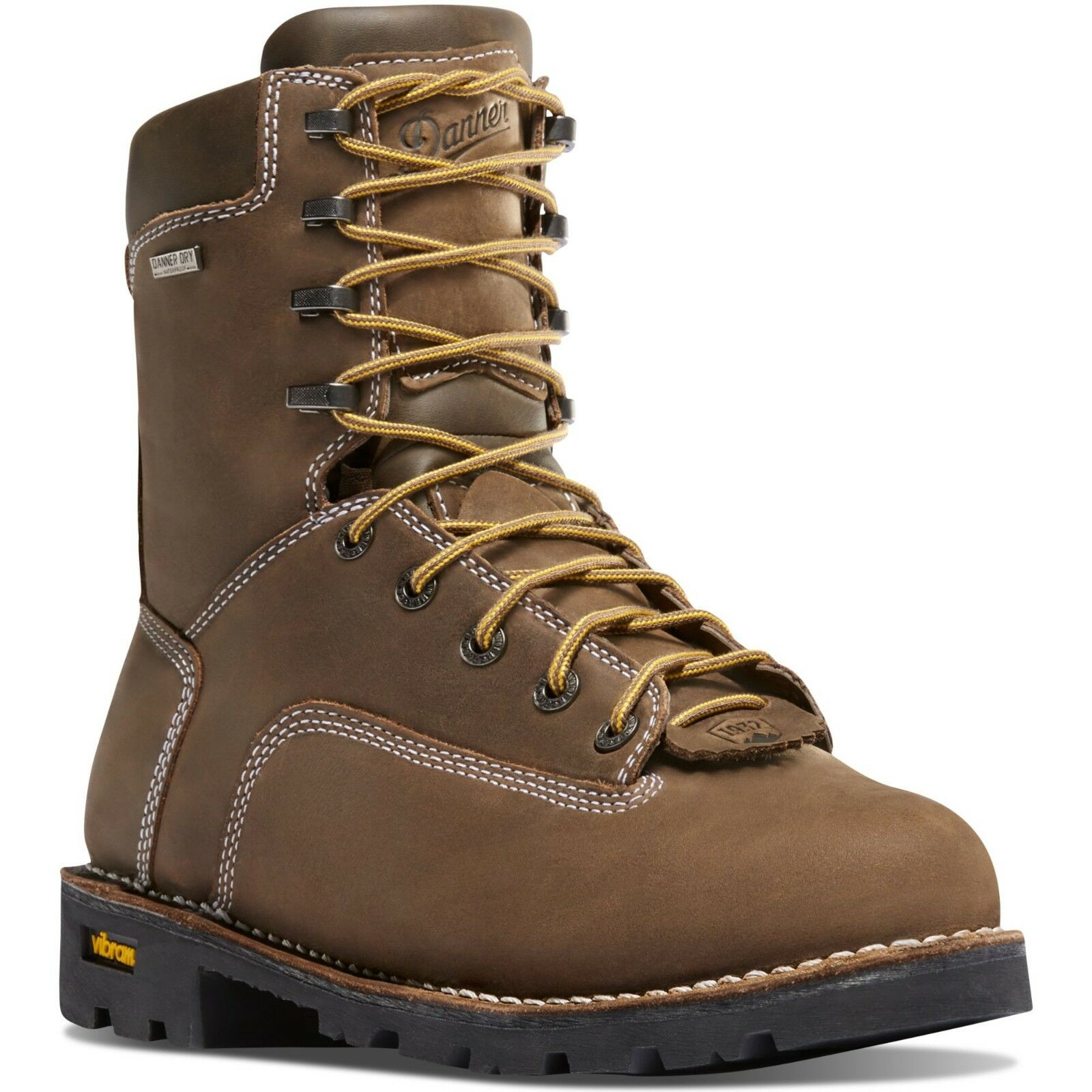 Danner Men's 14230 Gritstone 8  Marroneee 400G Insulated Comp Toe Work Safety stivali