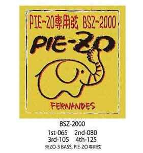Fernandes BSZ-2000 ZO-3 Bass/TORTA-ZO Stringhe spedizione gratuita per torta-ZO ZO-3 BASS