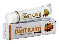 1 X Patanjali Advanced Divya Dant Kanti Toothpaste Swami Ramdev 100g Usa Seller