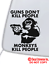 GUNS DON/'T KILL PEOPLE MONKEYS DO VINYL DECAL CAR WINDOW BUMPER STICKER FUNNY