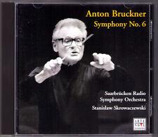 Stanislaw SKROWACZEWSKI: BRUCKNER Sinfonie Nr.6 CD Saarbrücken Radio Symphony