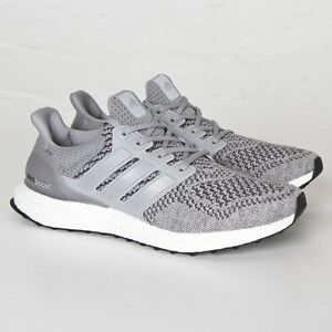 Adidas Men s Ultra Boost M Grey Wool 1.0 LTD Size 11. S77510 Yeezy ... 0c50a11b3