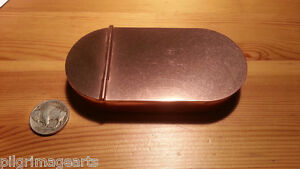 Ted-Cash-1790-COPPER-Tobacco-Box-Patch-Box-Tinder-Box-Made-in-USA