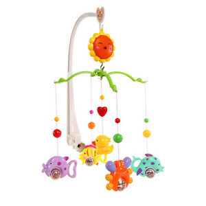 6-Baby-Infant-Cute-Crib-Mobile-Bed-Bell-Toy-Holder-Arm-Bracket-Wind-up-Music-Box
