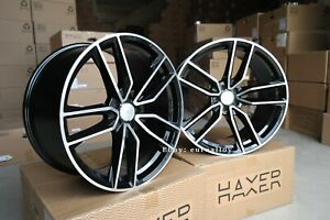 New 22 inch 5x112 10.5J BLACK alloy wheels fits for MERCEDES GL ML GLE GLS rims