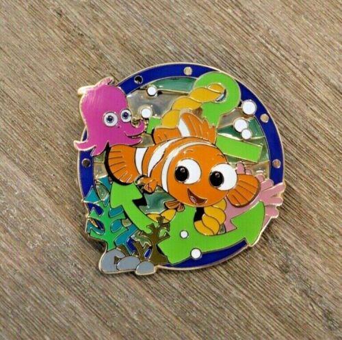 DisneyStore.com Nautical Series Nemo Pin Stain Glass Le 250 Disney
