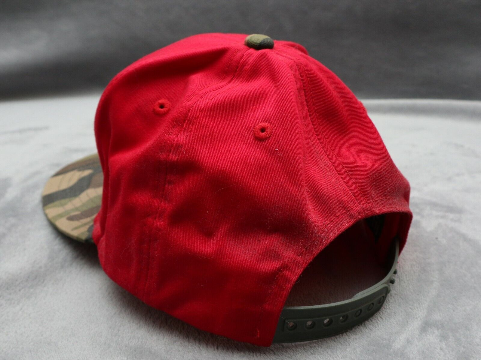 Holley Equipped red camo snapback - image 4