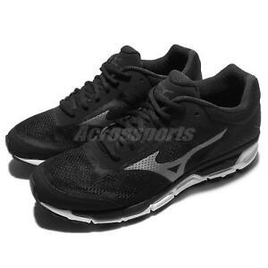 Mizuno-Sport-Style-Synchro-MX-2-Black-Grey-Men-Running-Shoes-Sneaker-J1GE17-1949