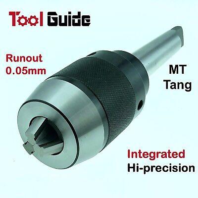 0.5-20mm MT1-5 Morse Taper Integrated Shank Arbor Keyless Drill Chuck Tang Mill