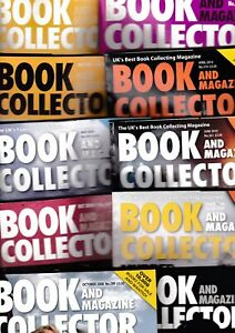Various Issues of BOOK AND MAGAZINE COLLECTOR from 2000s