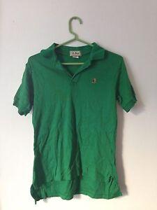 f9628761 Vintage LL Bean Original Mens Green Polo Shirt Embroidered Boot Logo ...