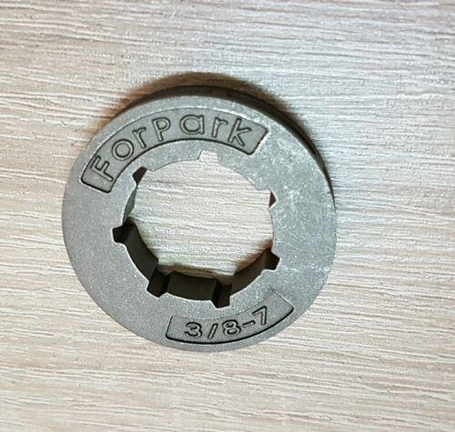 """MS 441 MS 460... 2 Stück Kettenrad 3//8/""""-7 Kettenring Ritzel für Stihl MS 440"""