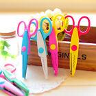 8pcs Edge Craft Pattern Scissors Handmade DIY Scrapbook Decor Kid Artwork Random