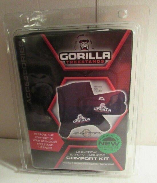 Black Gorilla Tree Stand Universal Safety Harness Belt Comfort Kit Tree Stand