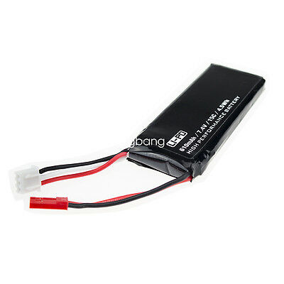 7.4V 610mAh 15C 4.5Wh Lipo Battery for Hubsan X4 H502S H502E RC Drone Plane Part