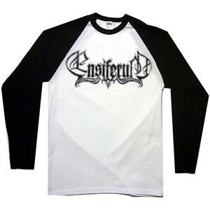 Ensiferum-Logo-Baseball-Shirt-S-M-L-XL-Official-Long-Sleeve-Raglan-Folk-Metal
