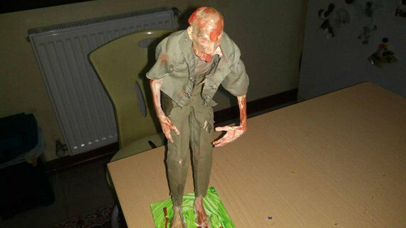 1 6 Scale Zombie Zombie Zombie Long John (Weathered) b13875