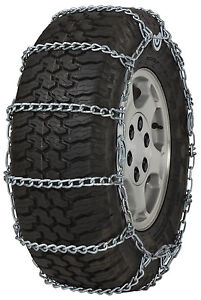 31x10 50r15 Tires >> Details About 31x10 50 15 31x10 50r15 Tire Chains 5 5mm Link Cam Snow Traction Suv Light Truck