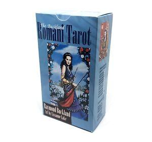 Buckland-Romani-Tarot-Cards-Deck-English-Version-with-Instruction-USA-SELLER
