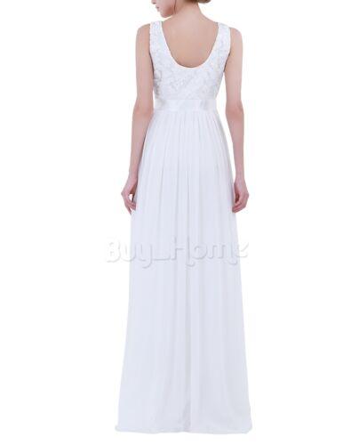 UK Women Formal Maxi Long Dress Prom Evening Party Cocktail Bridesmaid Weddings
