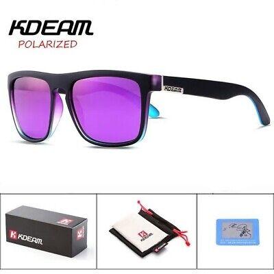 Gafas De Sol Polarizadas, Kdeam Kd156 C3 Hd, Uv 400, Polarized Sunglasses Prestazioni Affidabili