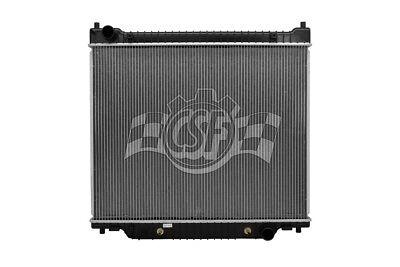Radiator-1 Row Plastic Tank Aluminum Core CSF 2928