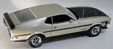 1 1970s Mustang GT Ford Sport Race Car 24 Vintage 18 Carousel Pewter 40 Model 12