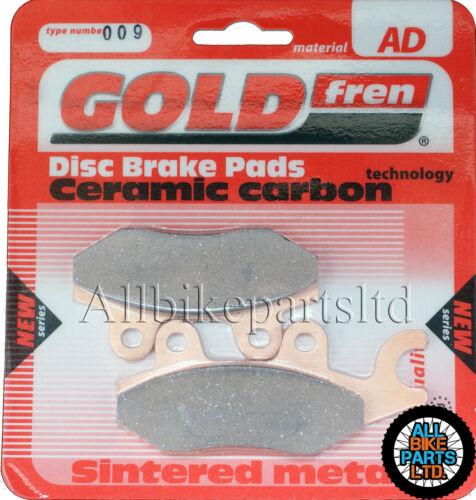 /> REAR BRAKE PADS /< GOLDFREN SINTERED CERAMIC TRIUMPH 1050 TIGER 2007-2013