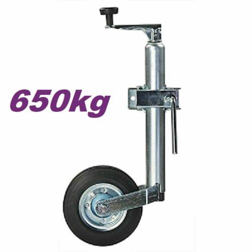 Kurbel Schwerlaststützrad 650kg Anhängerstützrad  Stützrad//Anhänger//zubehör