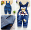 26-style-Kids-Baby-Boys-Girls-Overalls-Denim-Pants-Cartoon-Jeans-Casual-Jumpers thumbnail 32