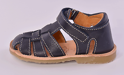 Petasil Just Infant Boys Blue Leather Sandals UK 5 EU 21 US 5.5 RRP £43.00