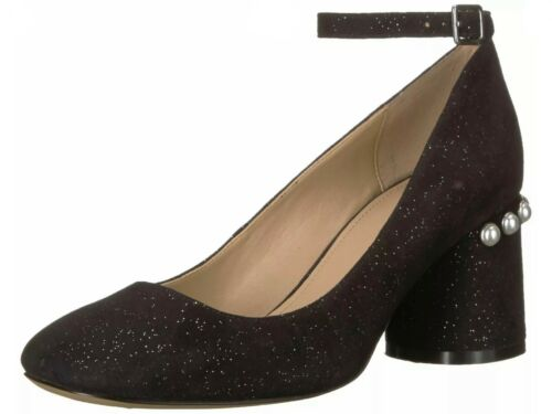 The Fix Mona embellished block heel MJ ankle strap pump pearls cosplay kawaii
