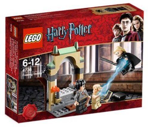 NEW IN BOX - LEGO Harry Potter Freeing Dobby - 4736 - 73 pieces - RETIrojo